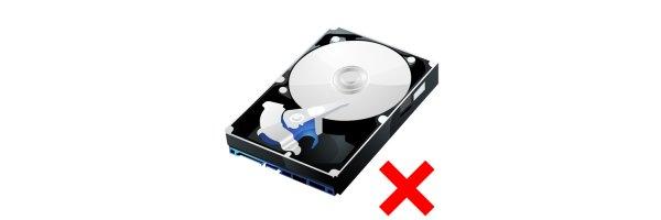 ohne Festplatte