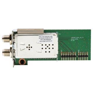 Dual Tuner für Octagon SF 4008 DVB-S2X Twin 4K UHD