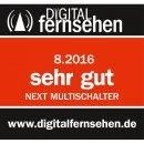 Next YE 10/16S Gold Plus Multischalter mit MDU5 LNB-Anschluss für Digitürk