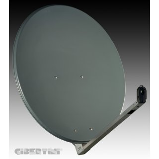 Gibertini OP 85 L 85cm Sat-Spiegel anthrazit