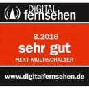 Next YE 10/12K Gold Plus, Kaskade-Multischalter mit MDU5 LNB-Anschluss für Digitürk