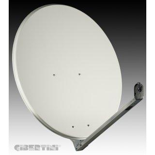 Gibertini OP 85 L 85cm Sat-Spiegel lichtgrau