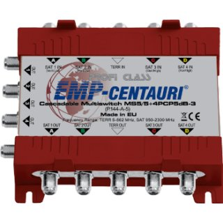 EMP Kaskade MS 5/5 +8PCP-3 (P-145-A)-5 dB für 8 Teilnehmer