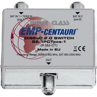 EMP DiseqC-Schalter 2/1  P-162-T (Erweiterungsmodul für Kaskaden)
