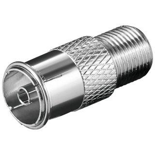 Adapter  F-Kupplung > Koaxial-Kuplung
