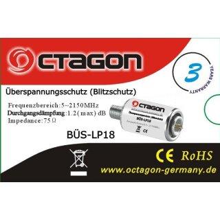 Überspannungsschutz-Blitzschutz Octagon BÜS-LP18