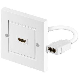 HDMI Wanddose 1 x HDMI A-Buchse
